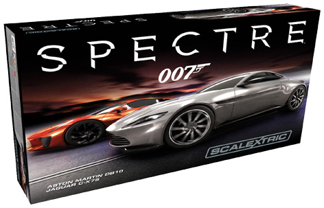 007 SPECTRE Scalextric packaging