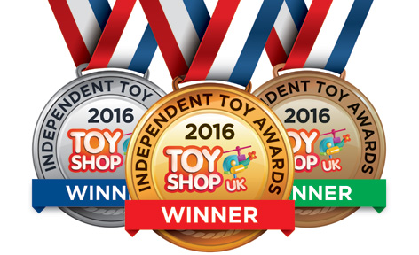 2016 Independent Toy Awards medal montage