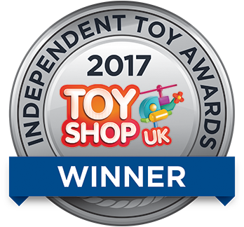 2017 Toy Shop UK Indepdent Toy Awards Winner