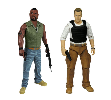 The A-Team Action Figures