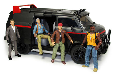 The A-Team Van Toy