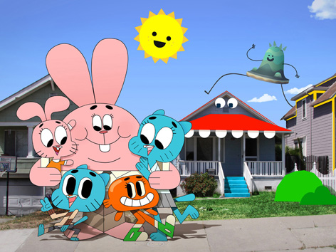 Characters from The Amazing World of Gumball