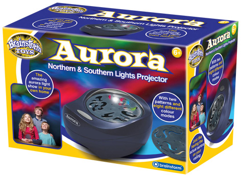 The Aurora Projector Packaging
