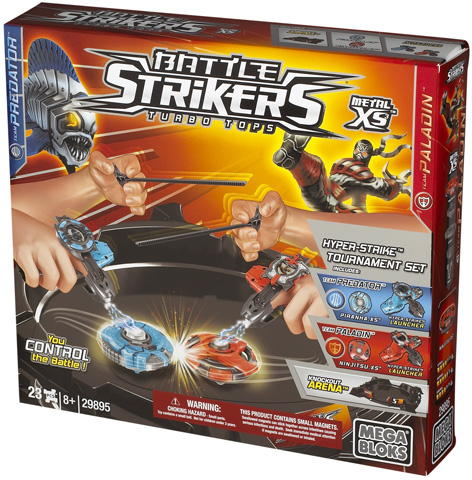 Packaging of the Battle Strikers Meta XS Tournament Set