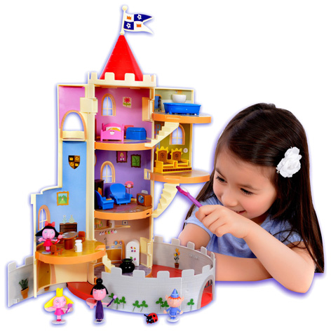 The Ben and Holly Magical Castle Playset