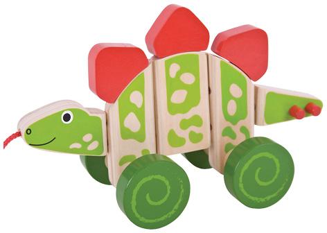 Pull Along Stegosaurus