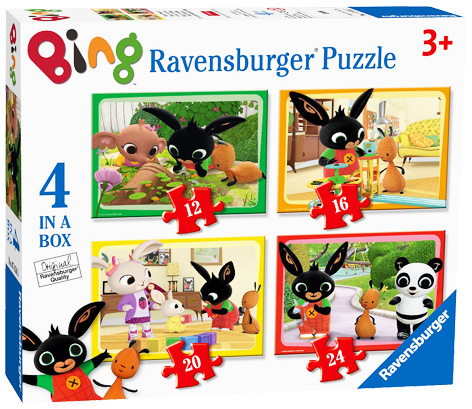 A Bing jigsaw puzzle from Ravensburger