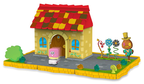 A Bobble Bots Moshi Monsters House
