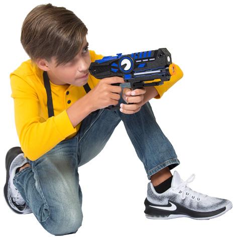 Boy playing ArmoGear
