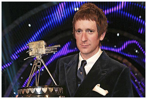 Bradley Wiggins - the BBC Sports Personality of The Year for 2012