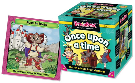 The award-winning BrainBox Once Upon A Time game