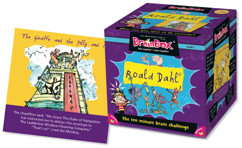 Brainbox Roald Dahl game