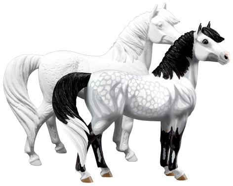 Breyer My Dream Horse - unpainted and painted