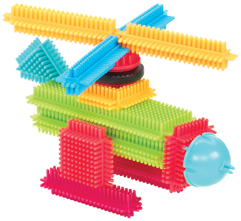 Bristle Blocks Helicopter