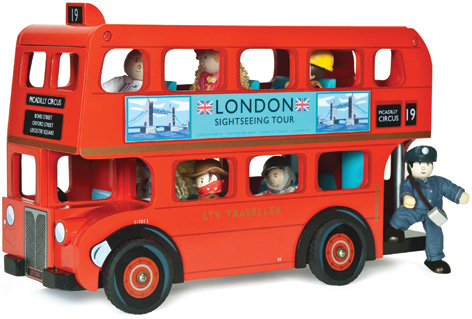 Budkins Toy London Bus from Le Toy Van