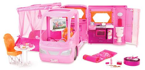 Barbie Glamour Camper Van