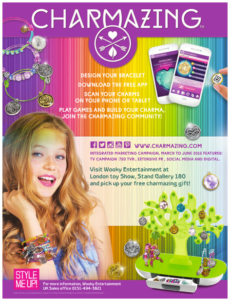 2015 Charmazing trade show advert