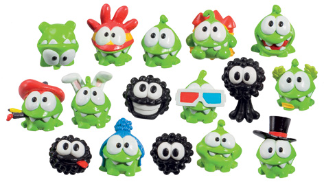 Collectable Cut The Rope Characters