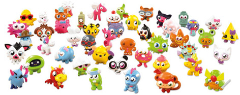 Moshling Collectable Figures from Moshi Monsters
