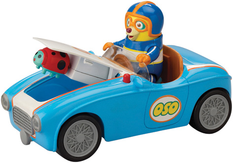 The Special Agent OSO Race Car