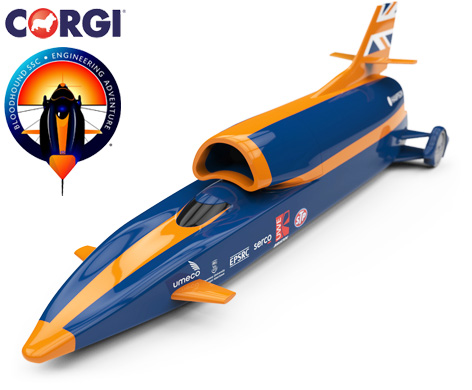 Corgi Bloodhound SSC Toy Model