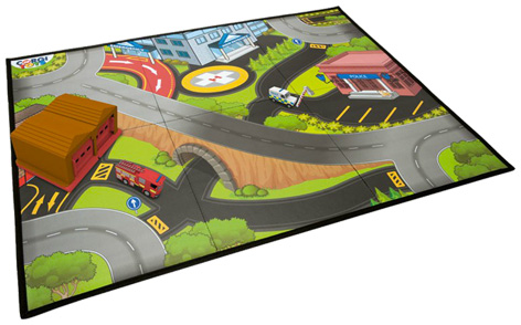 Corgi Toys Emergency Playset Playmat