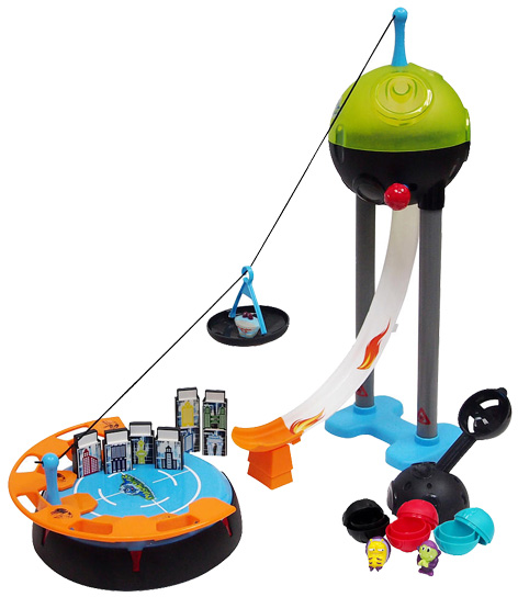 Crashlings Catapult City Playset