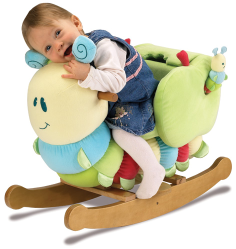 A Curious Caterpillar Infant Rocker