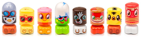 The Adorably Cute Moshi Monster Bobble Bots