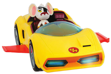Danger Mouse's Mark IV Toy Car