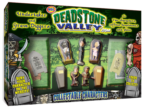 Deadstone Valley Packaging