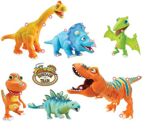 Dinosaur Train Toys from Tomy - Interaction Dinosaur Toys