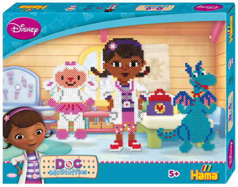 Hama Doc McStuffins packaging