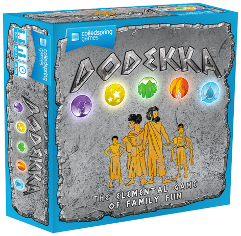 Dodekka Board Game Packaging