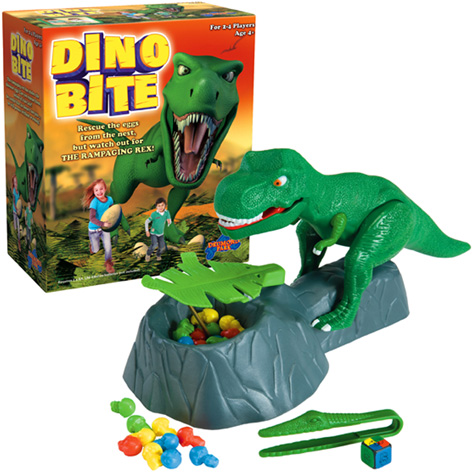 Drumond Park's Dino Bite Game Contents