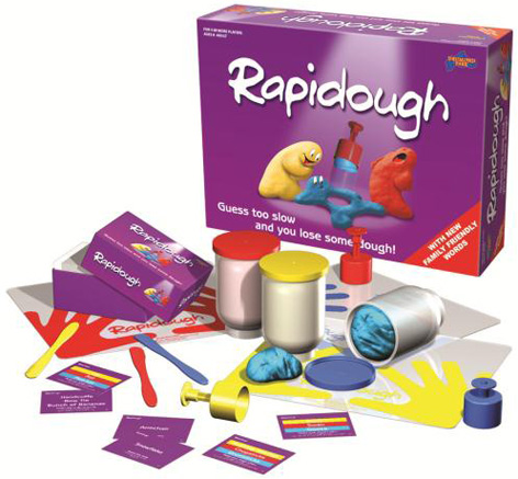 The contents of Drumond Park's New Family Rapidough Game