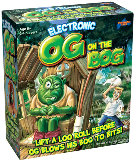 Electronic Og On The Bog Packaging