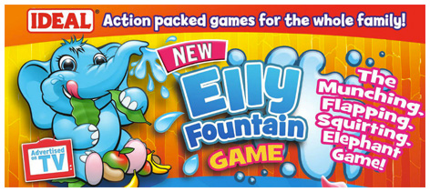 Trade advert for the Elly Fountain Game