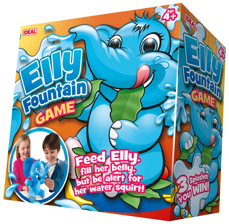 Elly Founatain Gam packaging