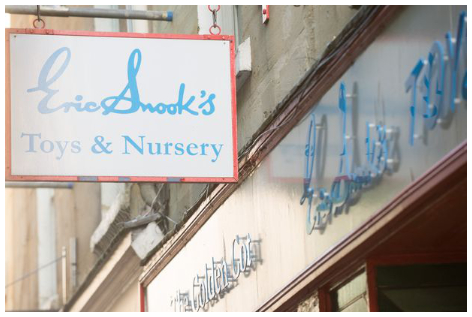Eric Snook Shop Sign
