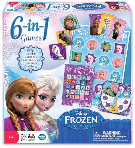 Disney Frozen 6-in-1 game