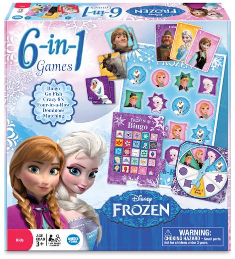 Disney Frozen 6-in-1 game