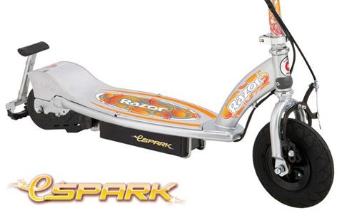 eSpark - The E-Spark Scooter From The Specialist Scooter Company, Razor