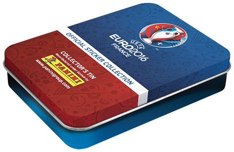 Euro 2016 Sticker Collection Box