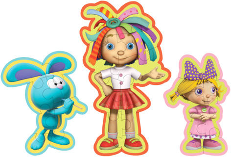 The Raggles, Rosie and Holly Jigsaw Puzzles