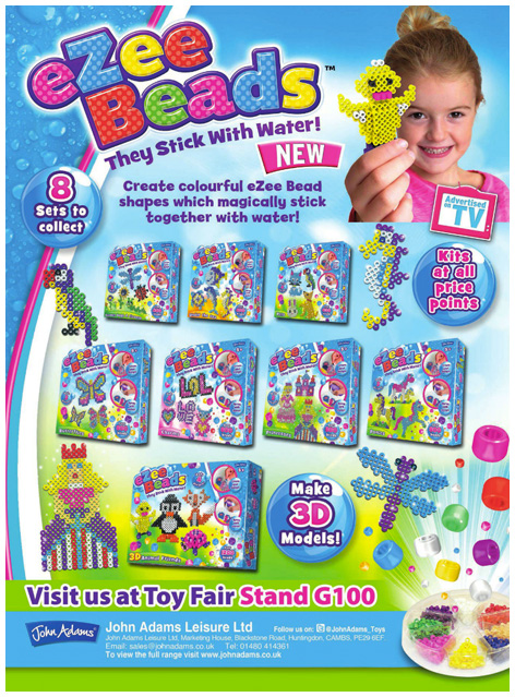 Ezee Beads toy trade advert