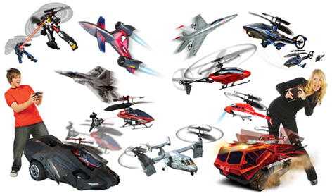 A selection of products from Flying Toys