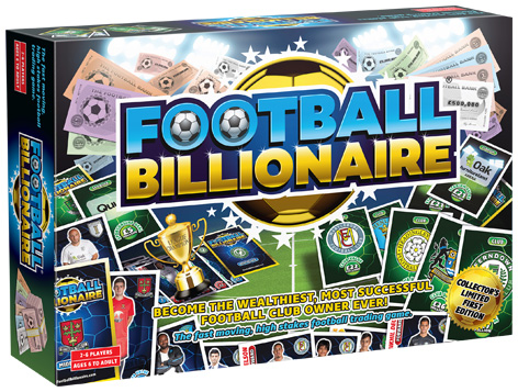 Football Billionaire Packaging