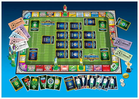 Football Billionaire Playing Board