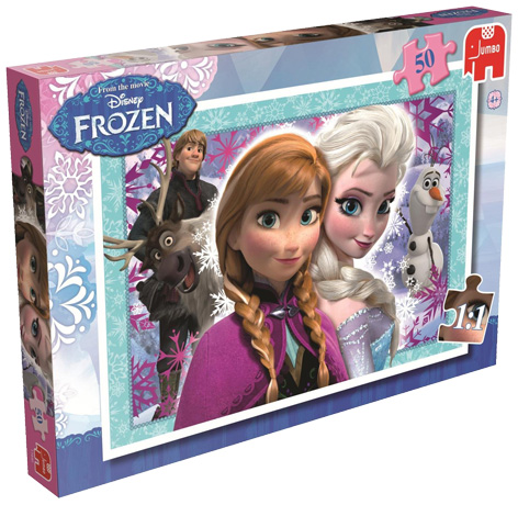 A Frozen jigsaw from Jumbo Games